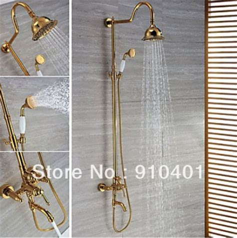 modern luxury brass bathroom shower faucet mixer tap