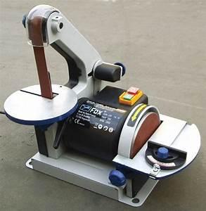 Ponceuse A Bande : fox ponceuse bande 25 mm et disque 125 mm 300w ~ Premium-room.com Idées de Décoration