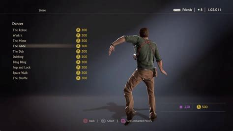 Uncharted 4 Dance Moves Youtube