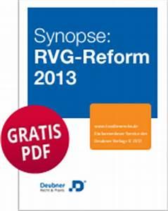 Rvg Abrechnung : gratis synopse zur rvg reform rvg news ~ Themetempest.com Abrechnung