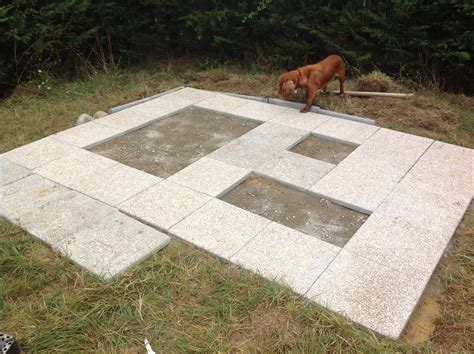 laying slabs for shed how to get how to lay a base for a shed with paving slabs