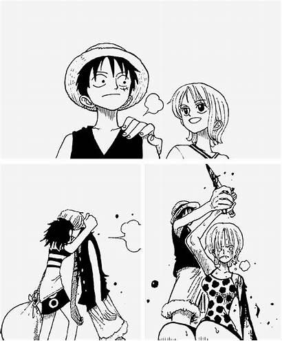 Luffy Manga Piece Zoro Anime Monkey Nami