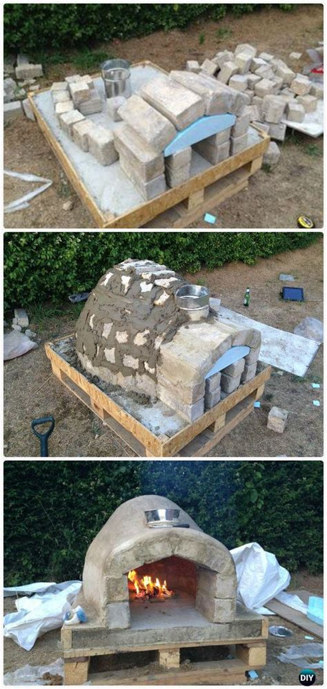 Backyard Pizza Oven Diy by Diy Outdoor Pizza Oven Ideas Projects