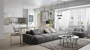 Sofa Nordischer Stil : d co style scandinave de 10 appartements d architecte ~ Lizthompson.info Haus und Dekorationen