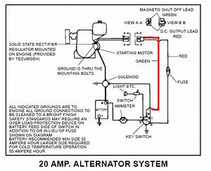 Max Ii With Tecumseh Oh160 Wiring Question