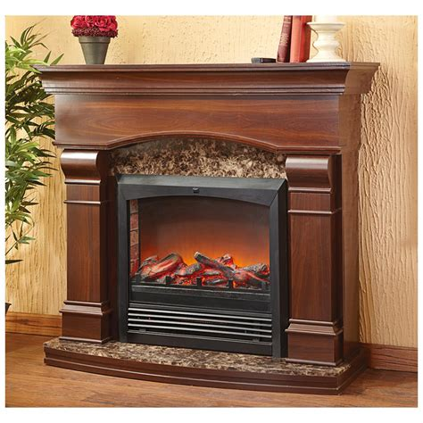 CASTLECREEK Estate Electric Fireplace   310947, Fireplaces