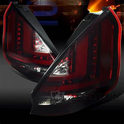 Led Fiesta Ford Lights Tail Smoked Enlarge