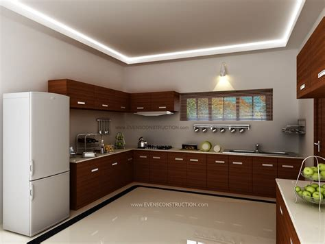 Evens Construction Pvt Ltd Kerala Kitchen Interior