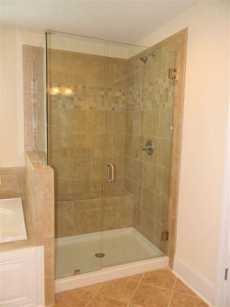 Ceramic Tile Bathroom Showers by Essex Homes Frameless Shower Door Essexhomes Ceramic