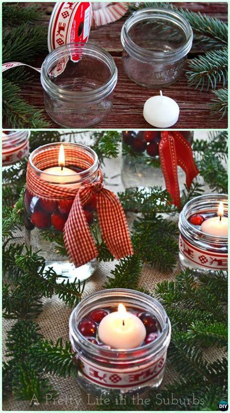 diy christmas mason jar lighting craft ideas picture