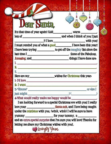 letter  santa  adults wink wink search