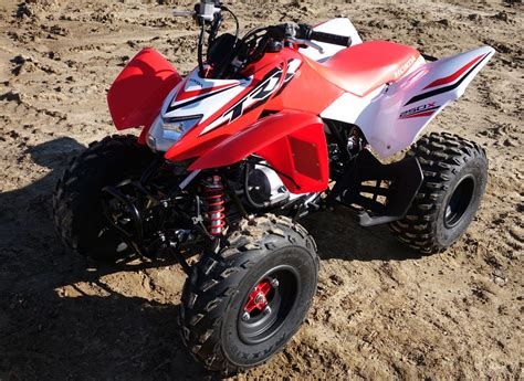 honda trxx review atvcom