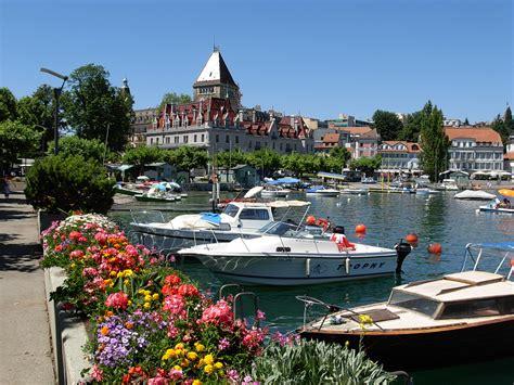 reparation chambre a air tour du lac lé en vélo suisse onvasortir lyon