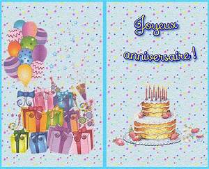 Carte De Voeux Gratuite A Imprimer Personnalisé : carte de voeux anniversaire gratuite imprimer ~ Louise-bijoux.com Idées de Décoration