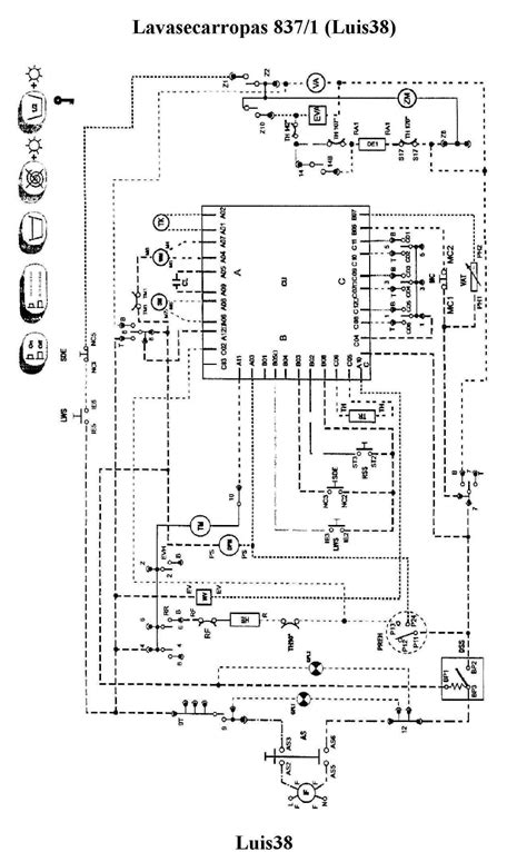 solucionado diagrama electrico whirpool 837 lava seca yoreparo