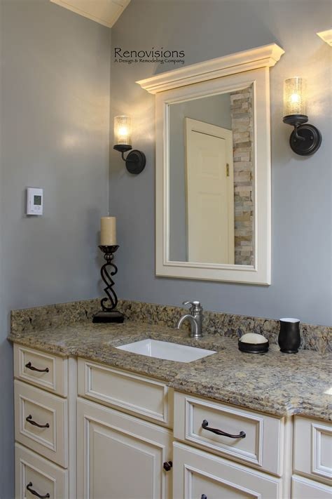 completed master bathroom remodel