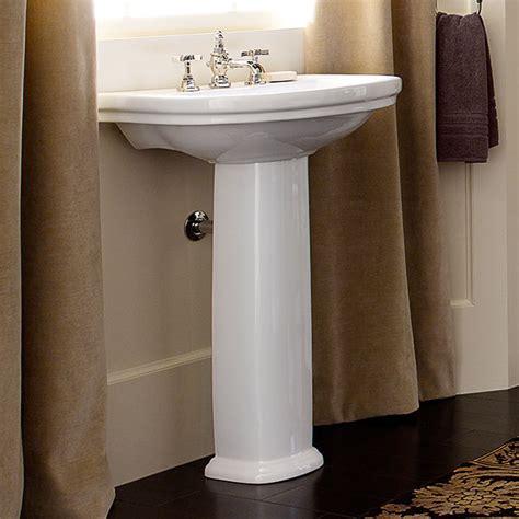 18 inch pedestal sink pedestal sink st george 24 inch pedestal lavatory by dxv