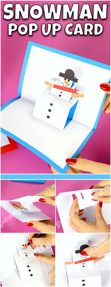 14 Easy Christmas Pop Up Cards Tutorials & Ideas My