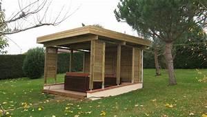 Spa Bois Exterieur : abris pour spa exterieur 20170921152934 ~ Premium-room.com Idées de Décoration
