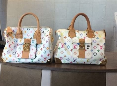 spot fake louis vuitton monogram icon handbags