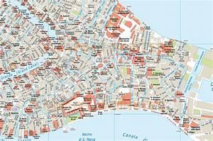 Digital Vector Venice City Royalty Free Map In Illustrator