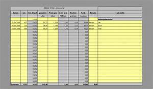 Kfz Berechnen : kfz kosten tankbuch spritkosten download ~ Themetempest.com Abrechnung