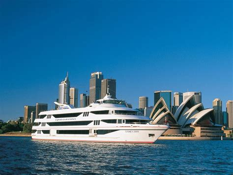 top deck lunch cruise sydney harbour