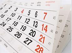 2018 terá 9 feriados nacionais e 5 pontos facultativos