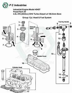 Industrial Engine Model 4045t Powertech 2v 4 5l 276