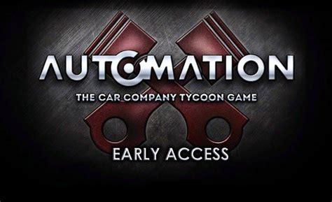 automation  car company tycoon