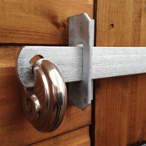 door bar lock a1 shedbar shed door security bar