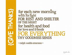 Giving Thanks Poems And Quotes. QuotesGram
