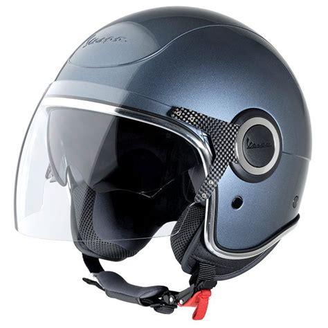 grigio dolimit vespa vj helmet scooter crazy