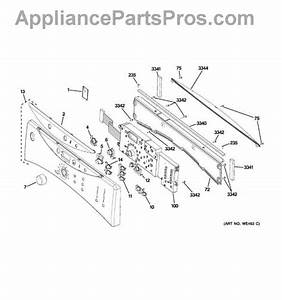 Parts For Ge Dcvh515ef0ww  Controls  U0026 Backsplash Parts