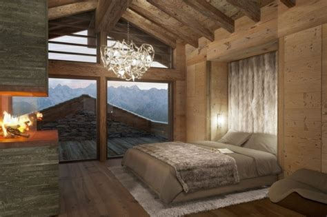 chambre style chalet déco chambre style chalet