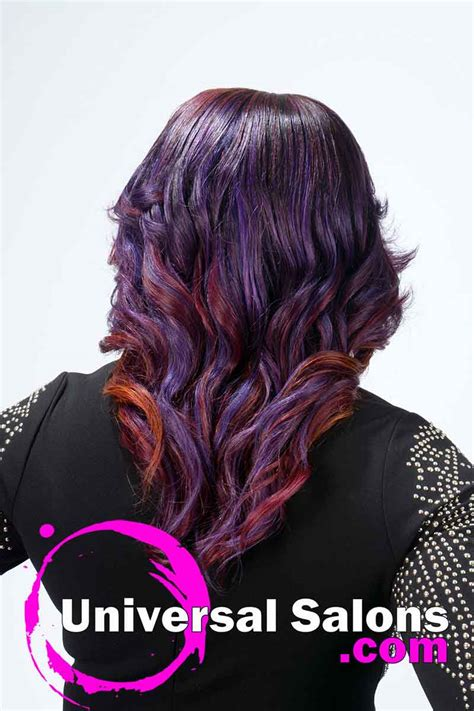 Sew In Weave Hairstyle Gallery by Sew In Weave Hairstyle With Color From Nakia Boykin