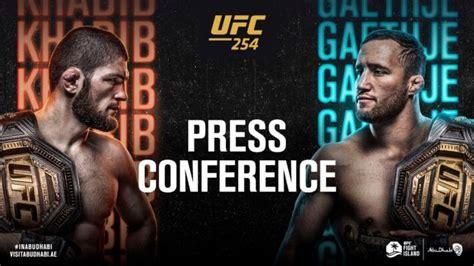 UFC 254: Khabib vs. Gaethje Pre-Fight Press Conference