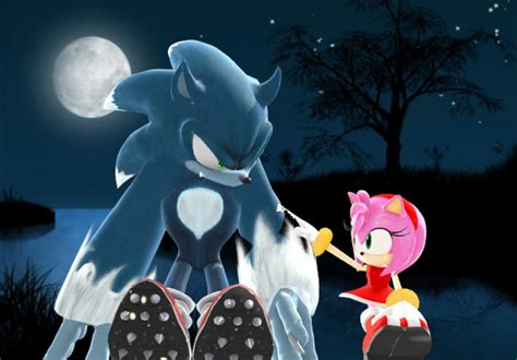 (mmd)sonic The Werehog X Amy Rose Date Night By