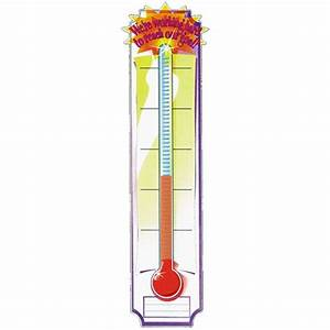Thermometer Template Free Clipart Fundraising Goal Tattoo