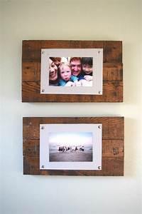 Foto Auf Holz Selber Machen : bilderrahmen selber machen 36 kreative diy ideen f r die wohnungsdekoration ~ Buech-reservation.com Haus und Dekorationen