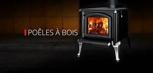 Poeles A Bois : foyers et po les au bois gaz et thanol ~ Voncanada.com Idées de Décoration