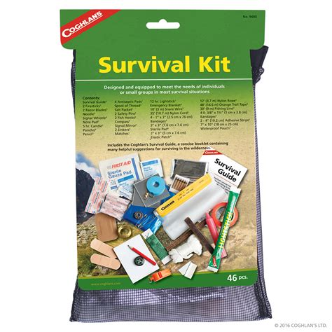 survival kit survival  emergency coghlans