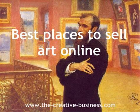 best places to sell art onlinethe creative business
