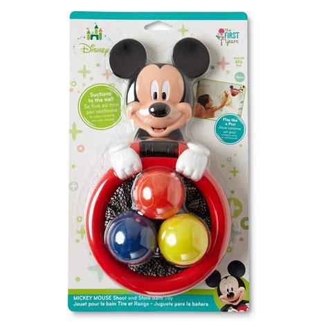 disney mickey mouse infants shoot score bath toy