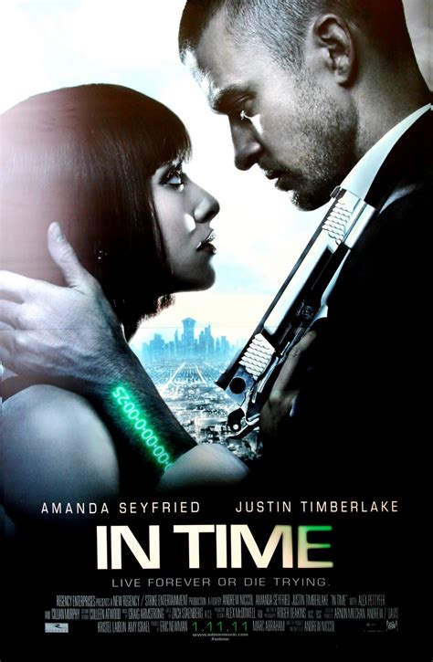 justin timberlake und amanda seyfried  time film kino