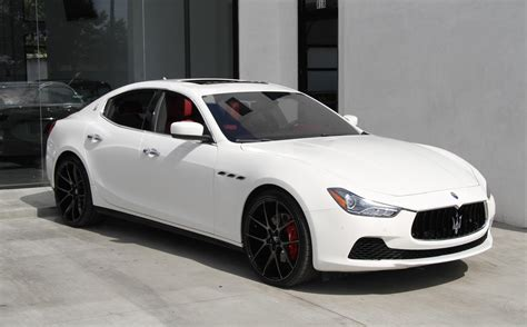 2016 Maserati Ghibli S Stock # 5994 For Sale Near Redondo