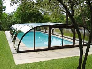 Abri Piscine Haut : abri de piscine mi haut abri piscine abrisud fabricant ~ Zukunftsfamilie.com Idées de Décoration
