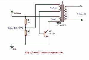 Low Cost Flyback Transformer Driver Circuit  Build Low Cost High Voltage Spark Generator