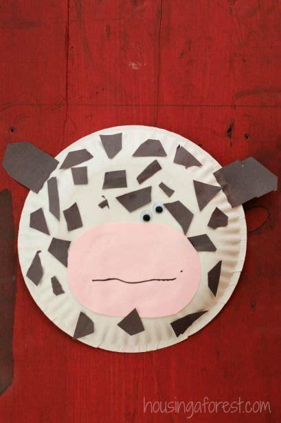 paper plate  simple farm animal crafts