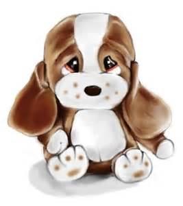 Sad Puppy Dog Clip Art